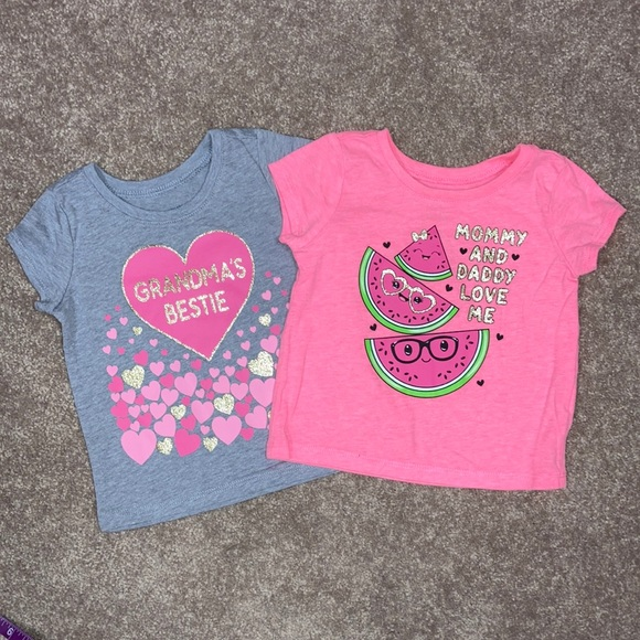 5/$20 TCP 12/18m grandma mommy daddy tshirts